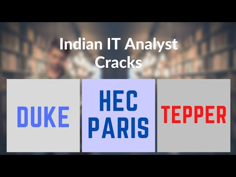 How to Crack Tepper School of Business?